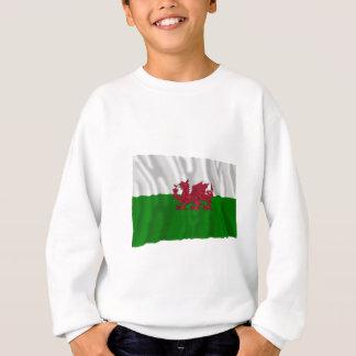 Wales Waving Flag Sweatshirt