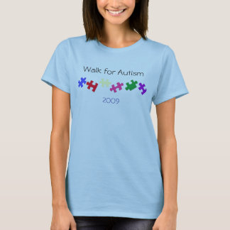 Walk for Autism, 2009 T-Shirt