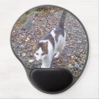 Walking cat gel mouse pad