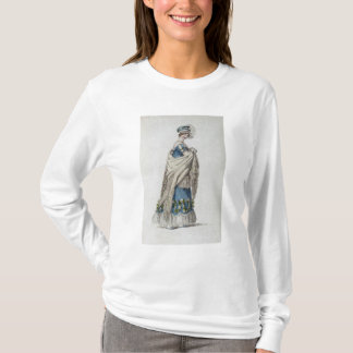 Walking dress, fashion plate from Ackermann's Repo T-Shirt
