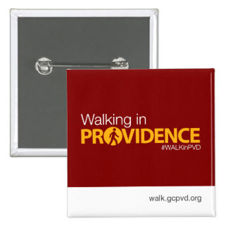 """""""Walking in Providence"""" button"""