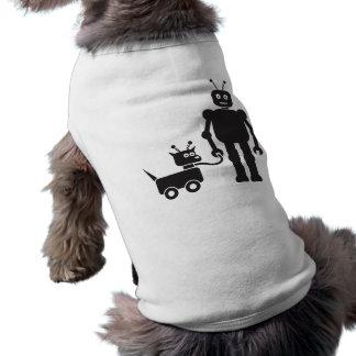 Walking the Dog-Bot Shirt