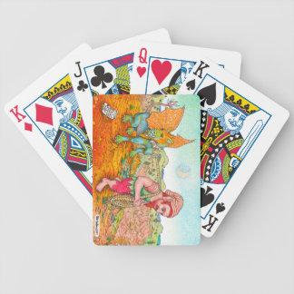 Walking the Gargoyle Deck Bicycle Playing Cards