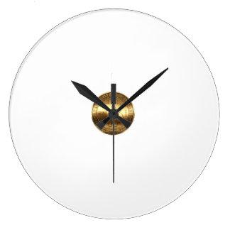 wall clock bitcoin