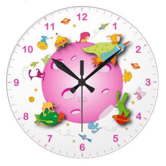 Kids Clocks Kids Wall Clock Designs Zazzle