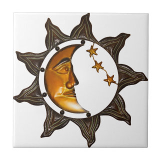 wall decoration Star Small Square Tile