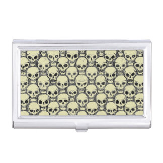 Wall o' Skulls Business Card Holder