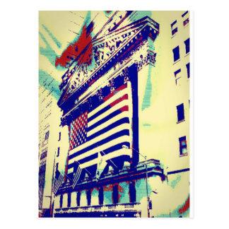 Wall Street Art Postcard