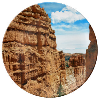 Wall street  Bryce Canyon National Park in Utah Plate