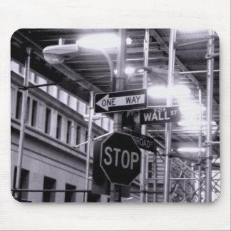 Wall Street Mousepad