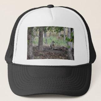 WALLABY AND JOEY RURAL QUEENSLAND AUSTRALIA TRUCKER HAT
