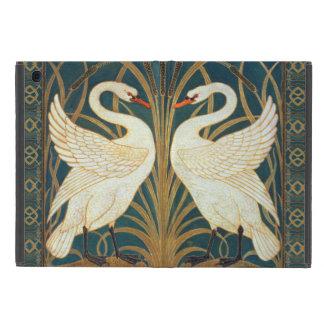 Walter Crane Swan, Rush And Iris iPad Mini Covers