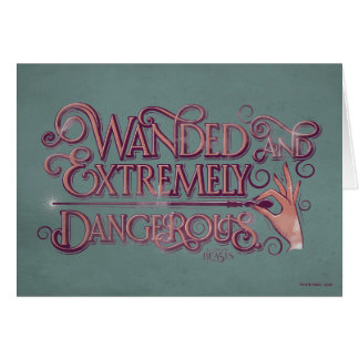 Fantastic Beasts greeting cards from Zazzle