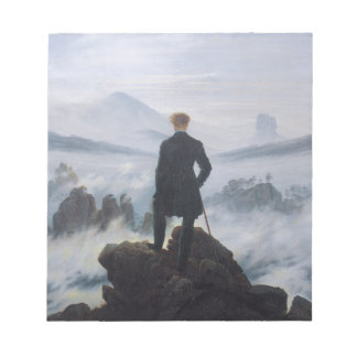 Wanderer above the Sea of Fog Notepad