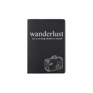wanderlust passport holder