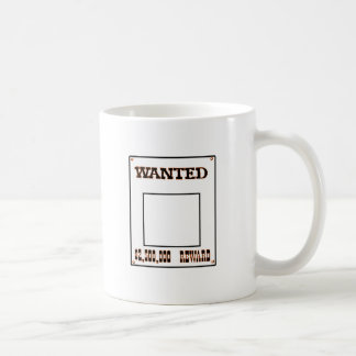 Wanted Orange transp The MUSEUM Zazzle Gifts Coffee Mug