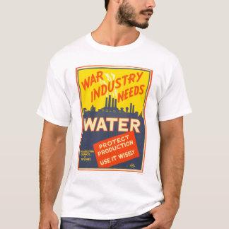 War Industry Water WWII 1943 WPA T-Shirt