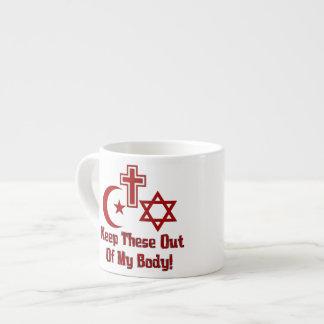 War On Women Espresso Cup