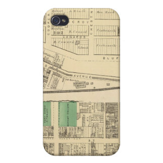 Ward 6 of Pittsburgh, Pennsyvania Case For The iPhone 4