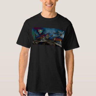 Warkites P-51 Psychedelic T-Shirt