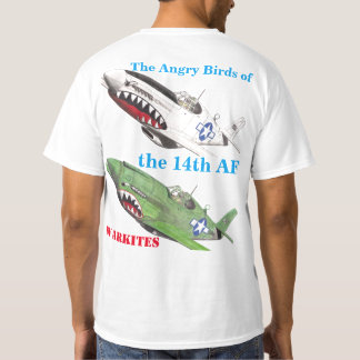 Warkites The Angry Birds of the 14th AF T-Shirt