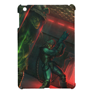 WARLASH ON THE HUNT comic book by Homeros Gilani iPad Mini Cases