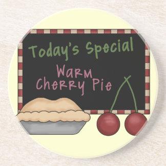 Warm Cherry Pie Coaster