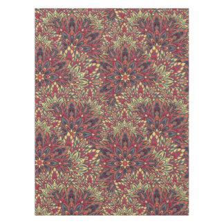 Warm color mandala pattern. tablecloth