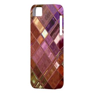 Warm Glow Mosaic Digital Art iPhone 5 Custom Case
