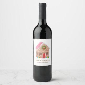 Warm Wishes Wine Label