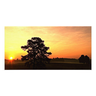 """Warmth"" Sunrise Panoramic Card"