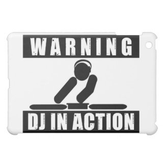 Warning Dj In Action Case For The iPad Mini