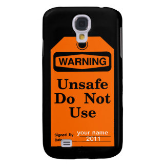 Warning do not use galaxy s4 case