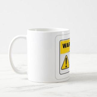 WARNING HOT!!!!!!!! BASIC WHITE MUG