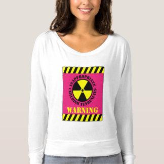 Warning Inappropriate Childish Tendencies T-Shirt