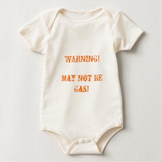 WARNING!, May Not Be Gas! Baby Bodysuit