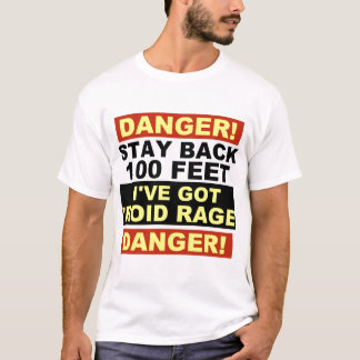 Warning Roid Range T-Shirt