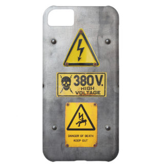 Warning Sign 05 iPhone 5C Case