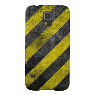 Warning Stripes Galaxy S5 Covers