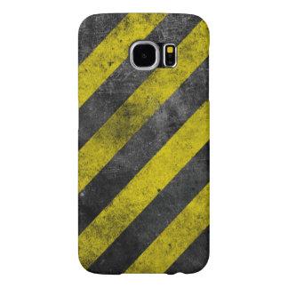 Warning Stripes Samsung Galaxy S6 Cases