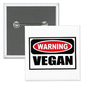 Warning VEGAN Button