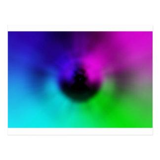 Warp Eye Postcard