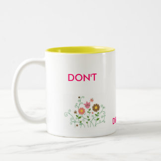 warring mug : Don't Drink its hot!!