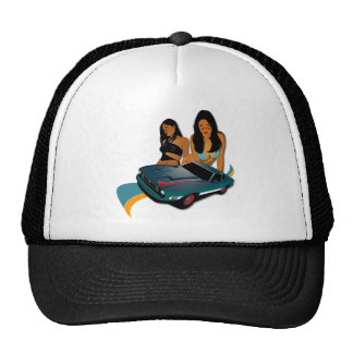 Warrior Girls Trucker Hats