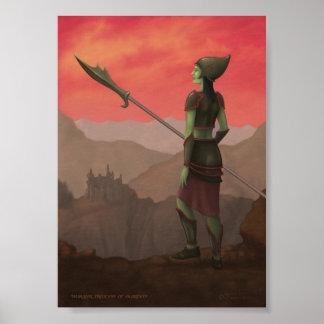 Warrior Princess of Skorden Poster