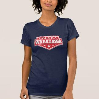 Warsaw Poland Emblem T-Shirt