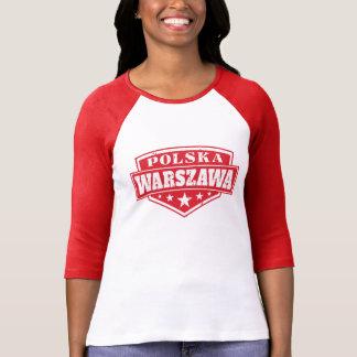 Warsaw Polska Poland Emblem T-Shirt