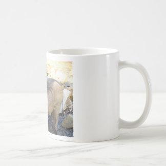 Wart Hog Basic White Mug