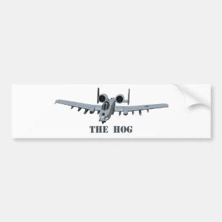 Warthog Bumper Sticker