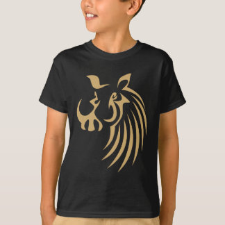 Warthog in Swish Drawing Style T-Shirt
